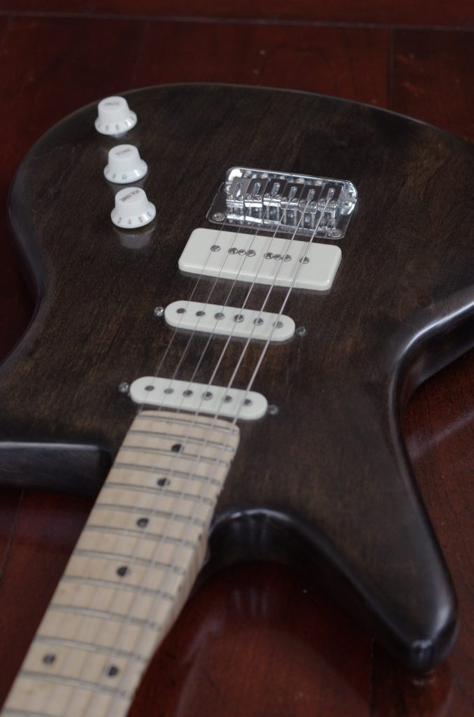 Custom guitar builder, guitar design